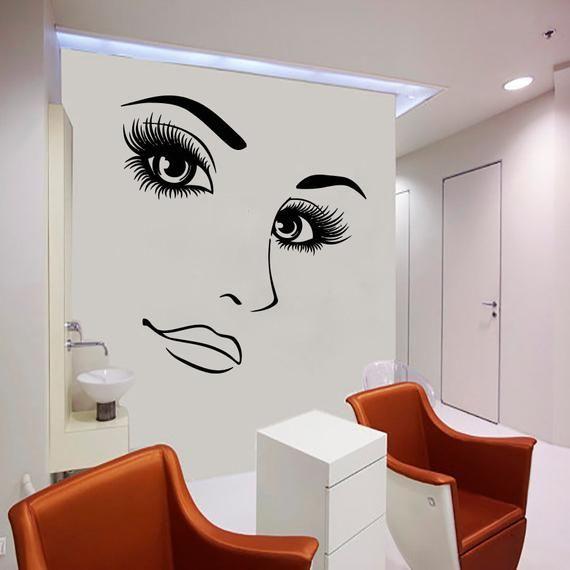 Spa salon Wall Decals Facials Skincare Massage Wall