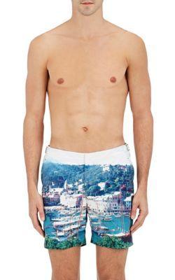 ORLEBAR BROWN Bulldog Hulton Getty Swim Trunks. #orlebarbrown #cloth #trunks