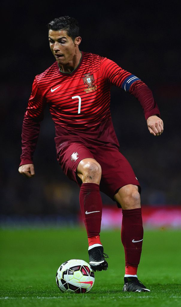 Cristiano Ronaldo Of Portugal In Action During The International