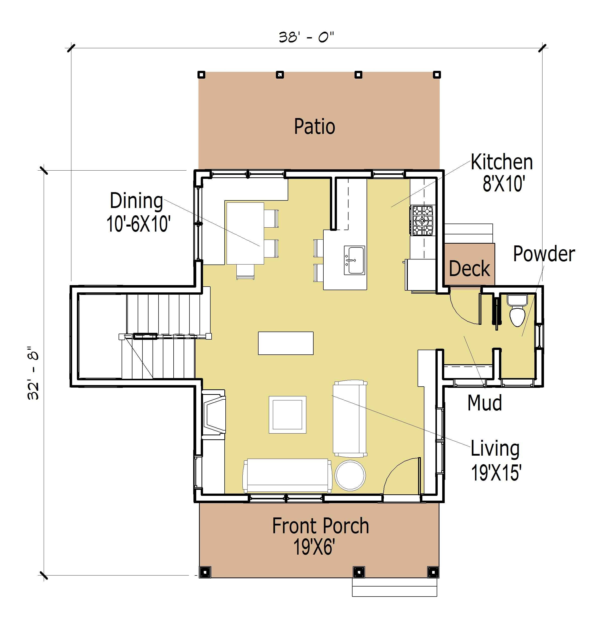 Small House Floor Plans Small Cottage House Plan