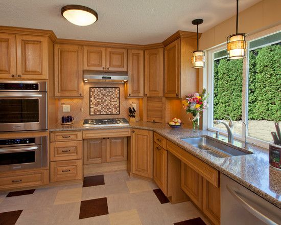 Ada Design Ideas Pictures Remodel And Decor Accessible Kitchen Contemporary Kitchen Kitchen Design