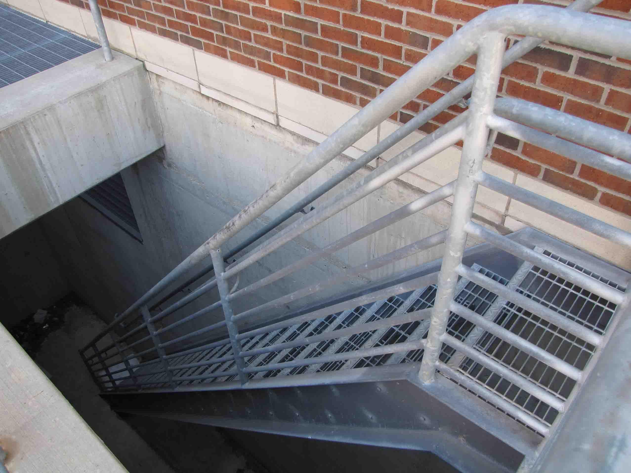 Genial Outside Metal Staircase | Stair Design Ideas