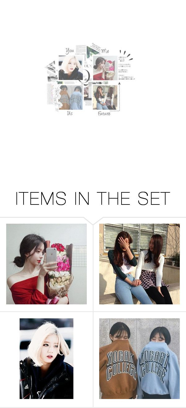 """""""& - ; From Miyoung, To Hyeri"""" by xstrawbunny-anonsx ❤ liked on Polyvore featuring art"""