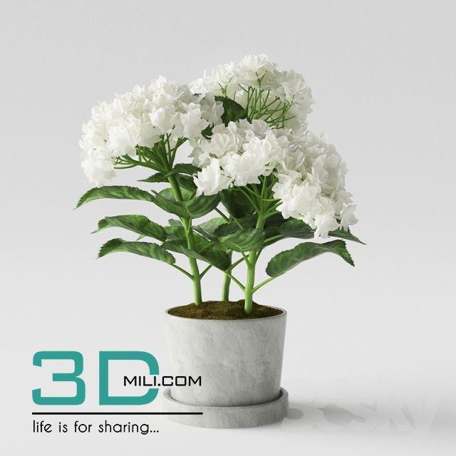 194. Vase Decor 3DMili Model 194 Free Download 3D