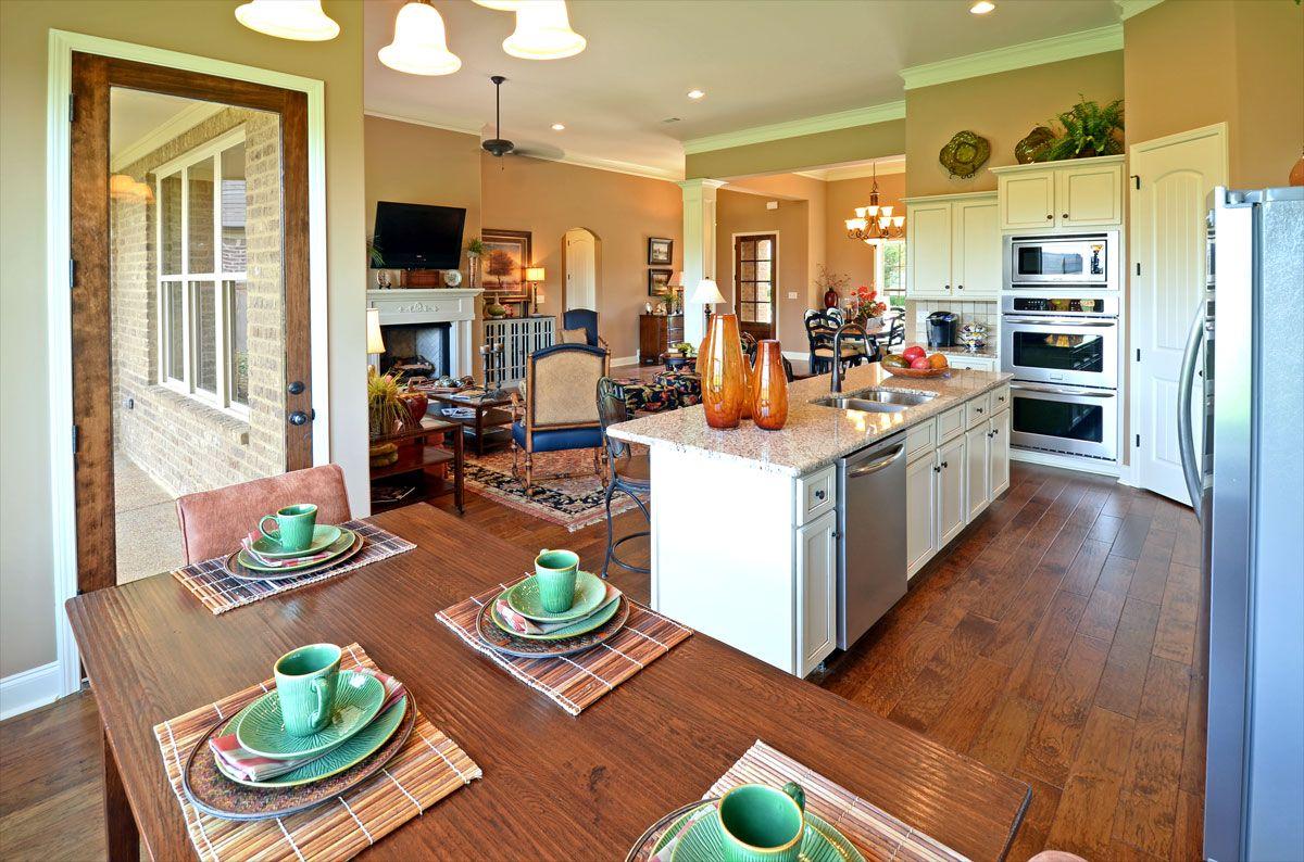 Conceito Aberto Em L Cozinha No Canto Sala De Estar De Um Lado E De  -> Fotos De Cozinha Conceito Aberto