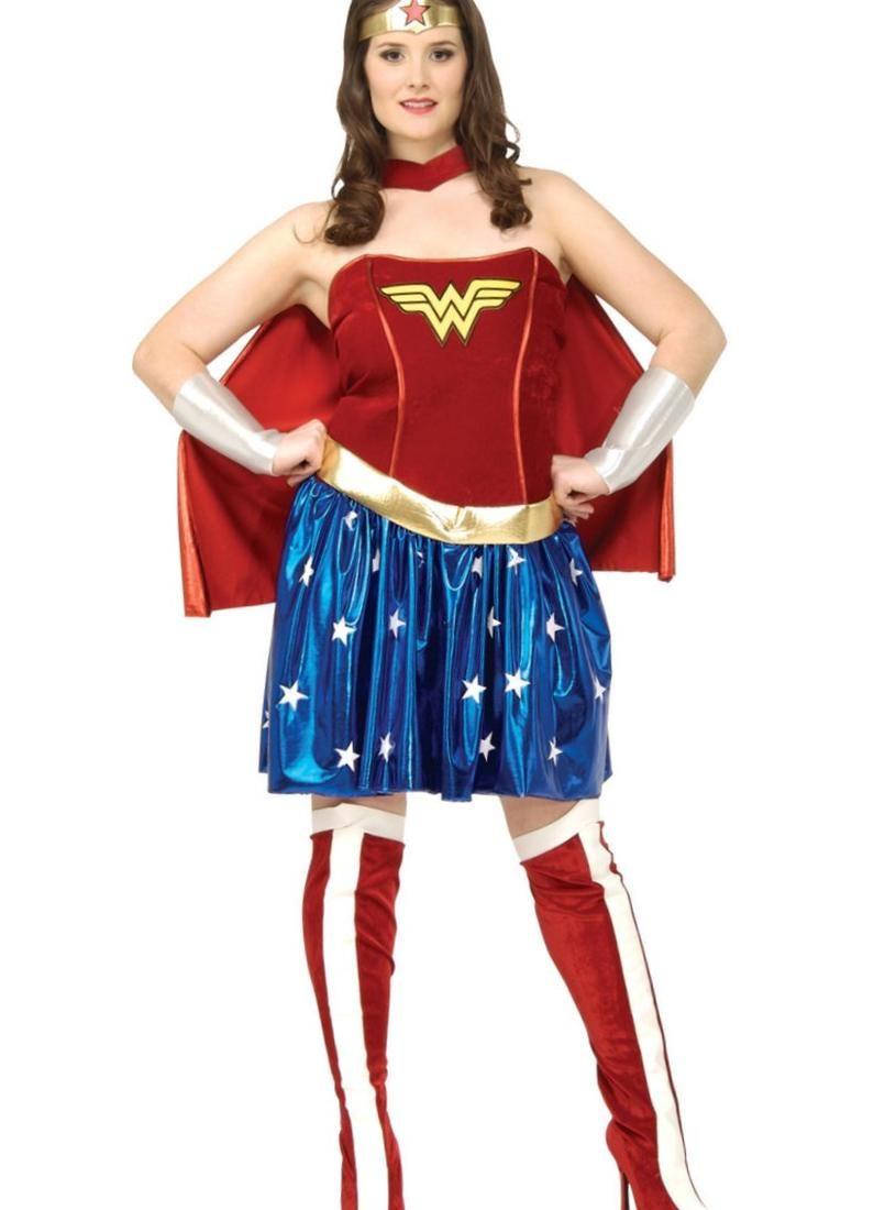 Plus Size Superhero Fancy Dress Httppluslookpartyplus Size