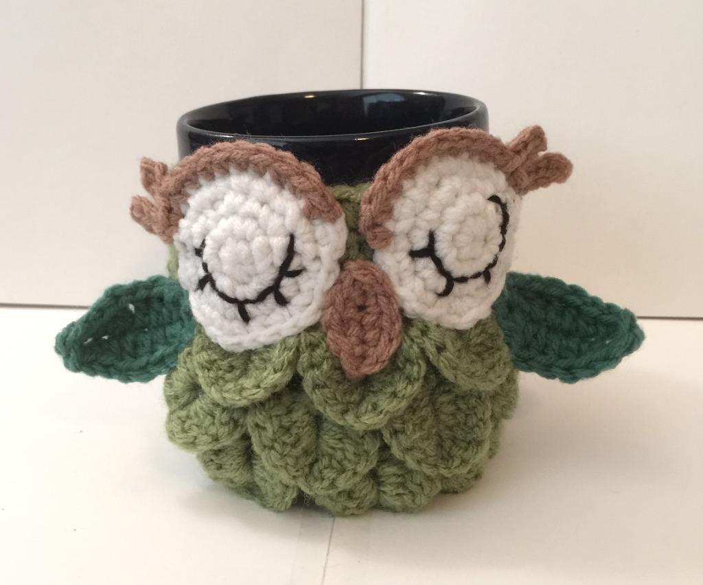 FREE Crochet Mug Cozy Patterns on Craftsy | TASARIMLAR | Pinterest ...