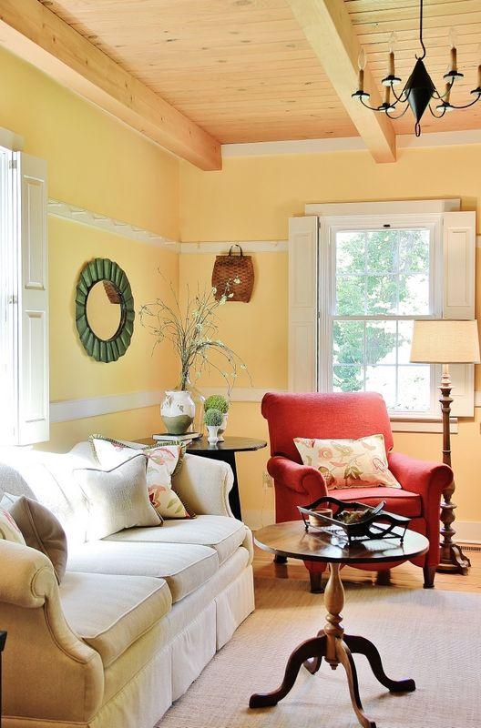 Colorful Garden-Inspired Home Tour | Basement decorating, Basements ...