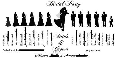 wedding party graphics wedding party silhouette clip art shelbys rh pinterest ie Wedding Party Silhouette Clip Art Wedding Party Word Clip Art