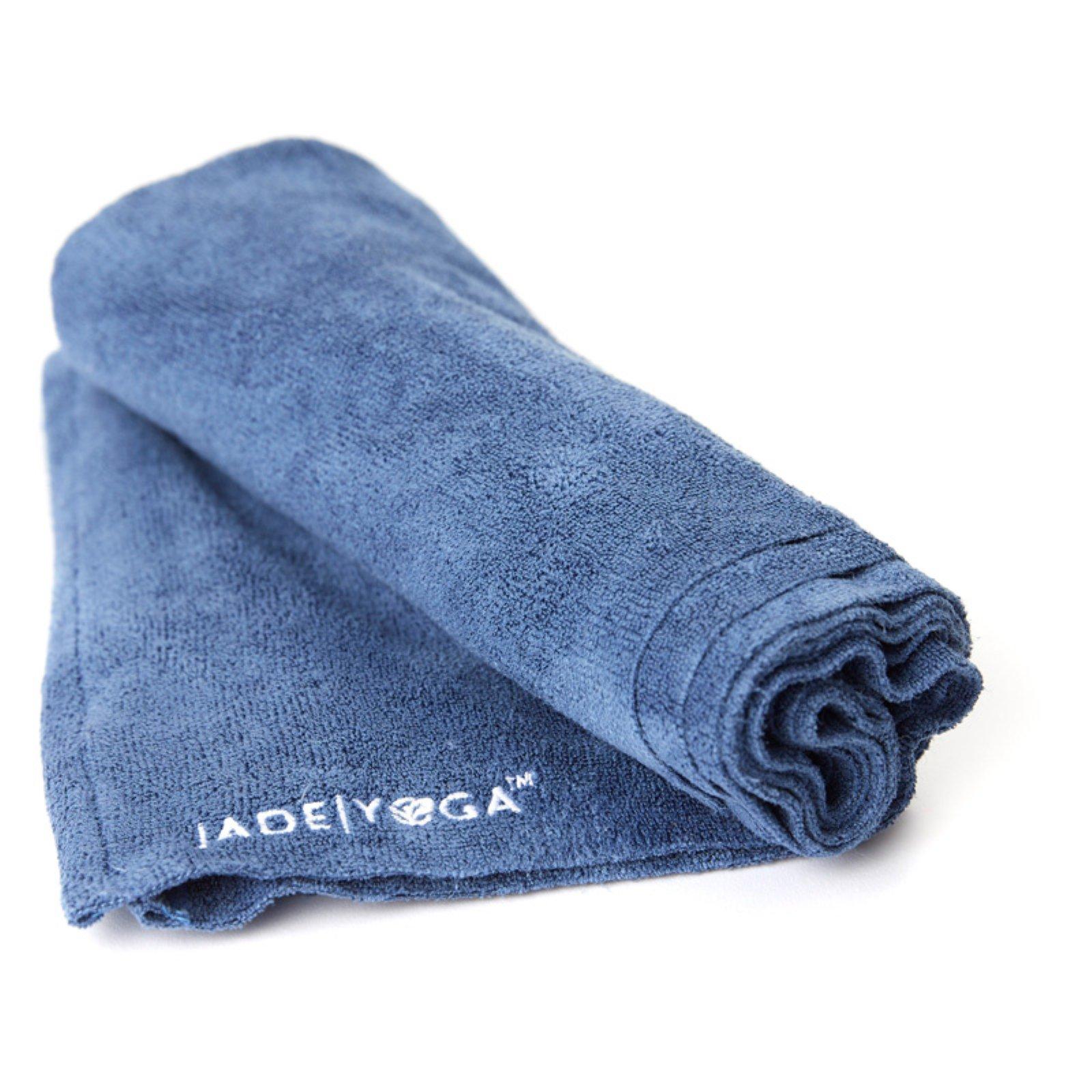 d87d6d0b683 Jade Microfiber Hand Towel Slate Blue Jade Yoga