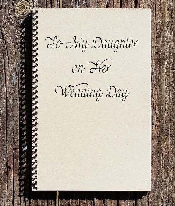 To My Daughter On Her Wedding Day Daughters Gift Mother