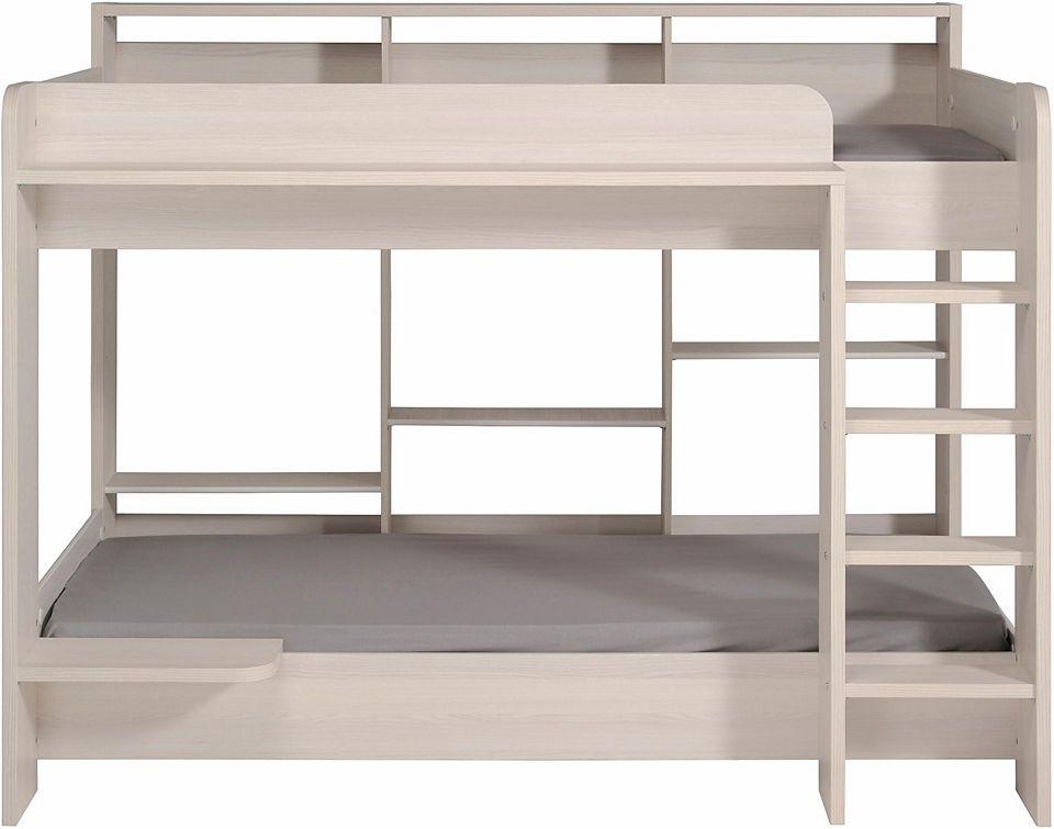 Etagenbett Abc Betten : Paidi biancomo etagenbett mit kleiderschrank und gästebett
