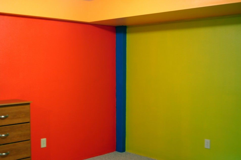 Green And Yellow Room Bedroom Playful Boys Room Paint Ideas In