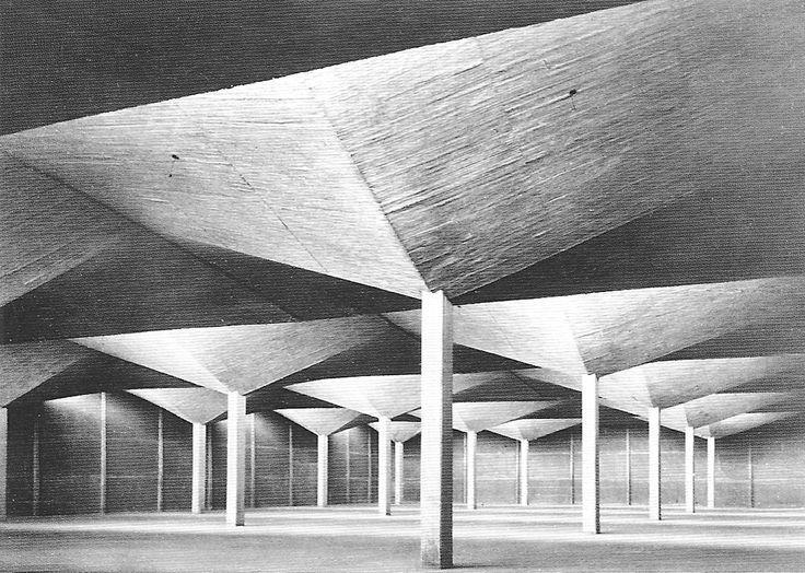 felix candela Concrete architecture, Architecture