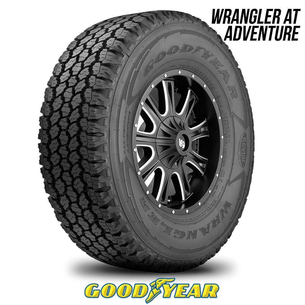 Goodyear Wrangler All Terrain Adventure Lt 285 65r18 125r