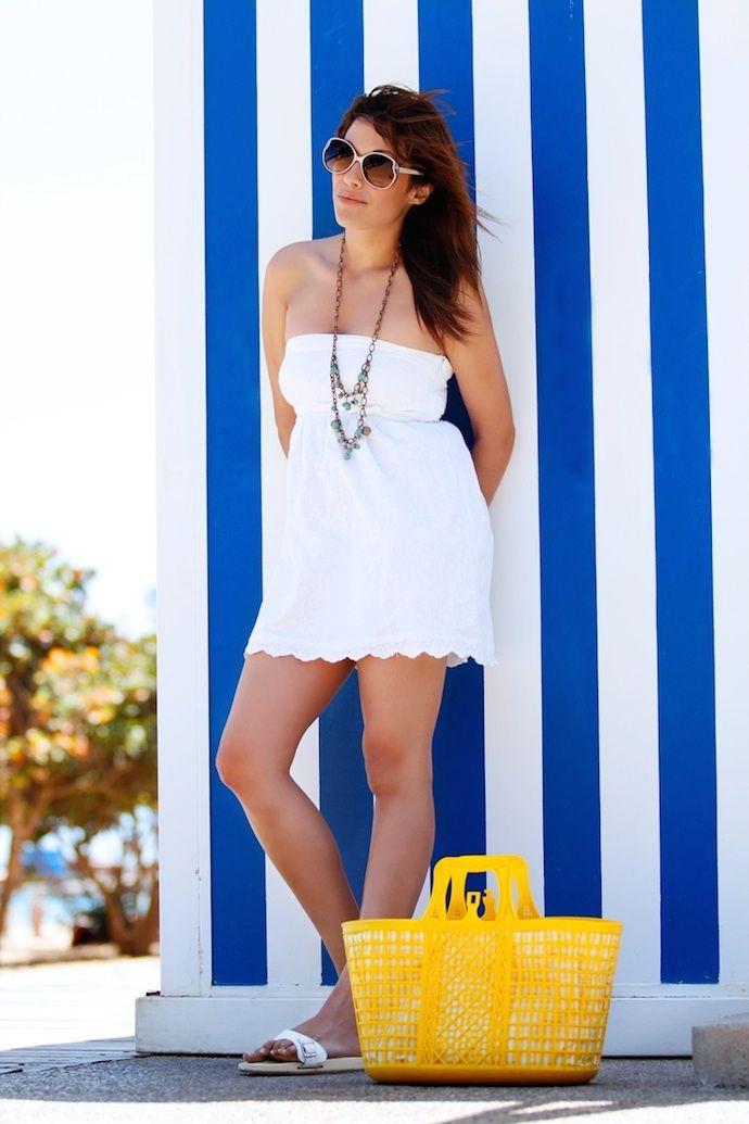 Beach time 29 5 2014 Vestido Dress: Suiteblanco Collar