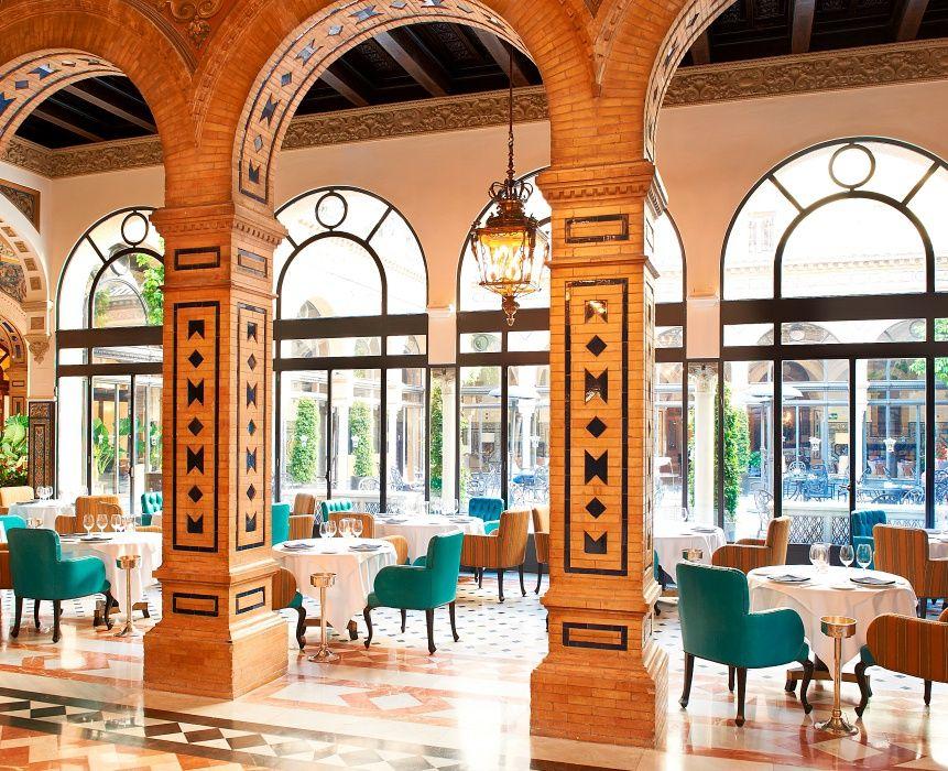 Restaurante San Fernando Hotel Alfonso Xiii Sevilla