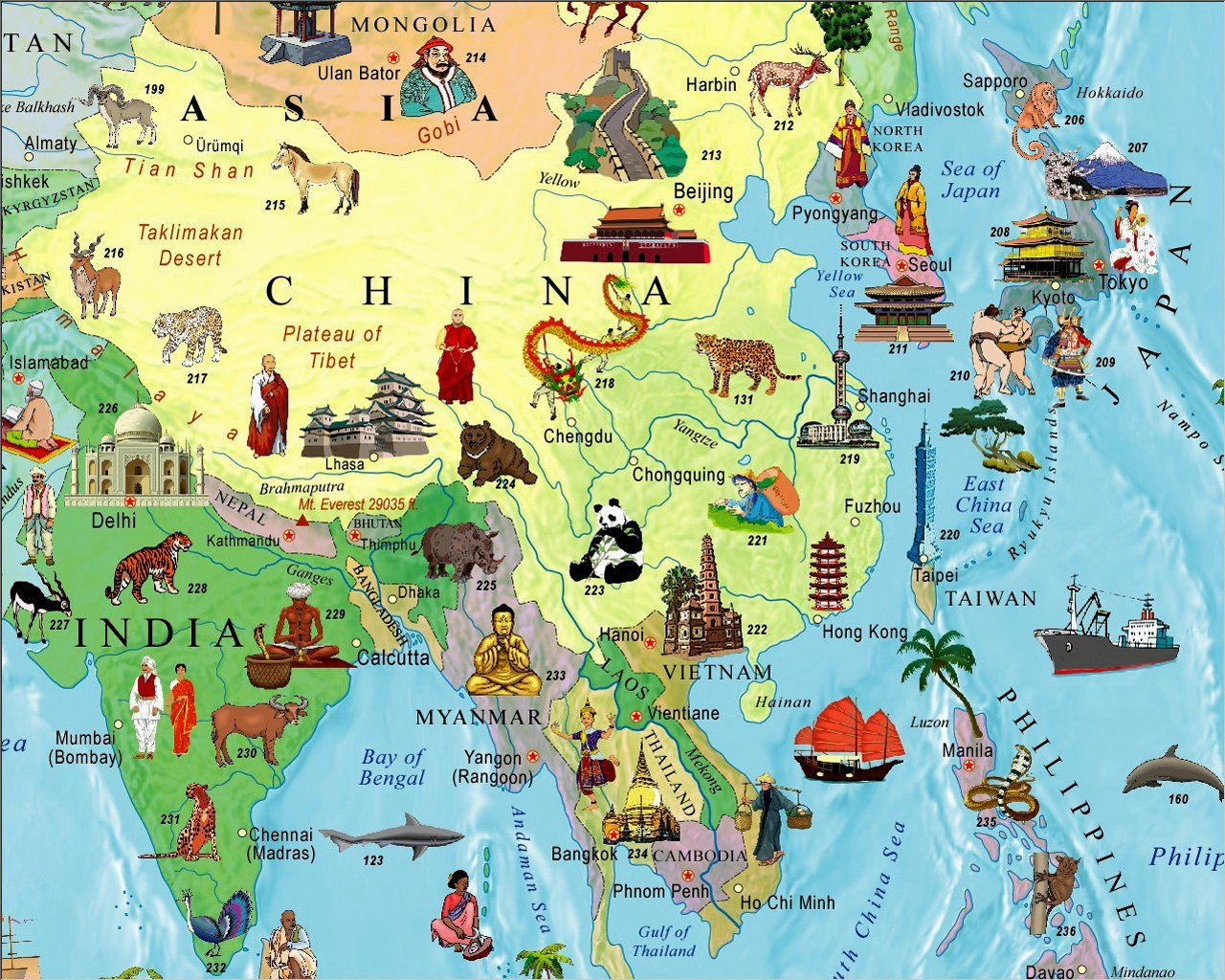 Illustrated map of the world for kids childrens world map akros illustrated map of the world for kids childrens world map akros 9789871663026 gumiabroncs Choice Image
