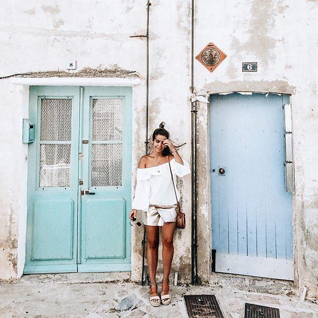 Colorful Doors Everywhere  @bashparis #bashparis #collageontheroad #calvi