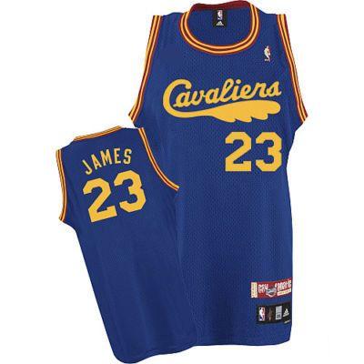 camiseta cleveland cavaliers retro azul con james 23  http://www.camisetascopadomundo2014.