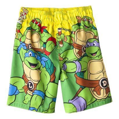 529f4be200 Teenage Mutant Ninja Turtles Toddler Boys' Swim Trunk | Swim trunks ...