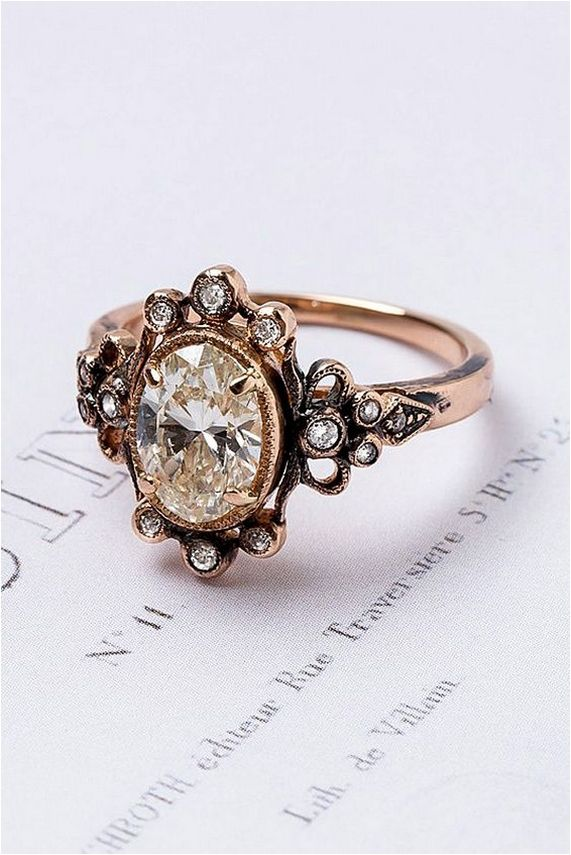 40 Ideas For Antique Engagement Rings Vintage
