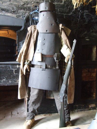 Complete armour recreation made by maxs ned kelly kelly gang complete armour recreation made by maxs ned kelly kelly gang creations maxwellsz