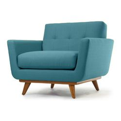 Superbe Thrive Home Furnishings   Nixon Chair, Lucky Turquoise   A Giant Chair To  Curl Up In! This Chair Makes A Large, Fashion Forward Footprint. B..
