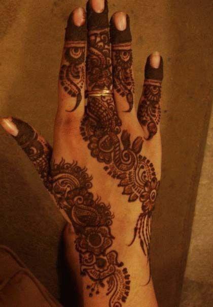 Mehndi Henna Glitter : Image detail for glitter eid mehndi design