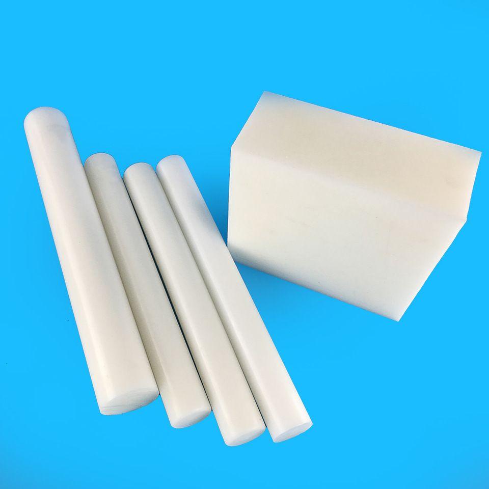 White Engineering Plastic 8mm Thick Anti Static Pom Sheet Rod Engineering Plastics Pom Pom Sheet