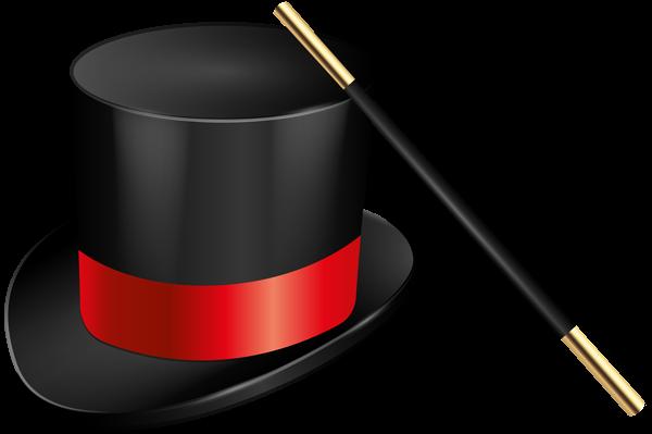 Magic Hat And Magic Wand Png Clip Art Image Magic Hat Art Images Clip Art