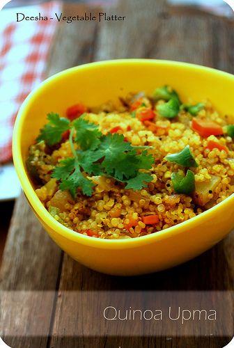 Quinoa Upma by deepthi.vishwanath, via Flickr