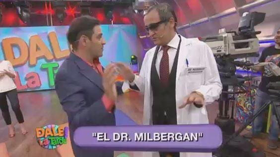 El cómico llegó a los estudios de Dale la tarde con una interpretación imperdible del reconocido Doctor Mulberger. Sino querés parar de reirte, miráesta divertida creación acá: