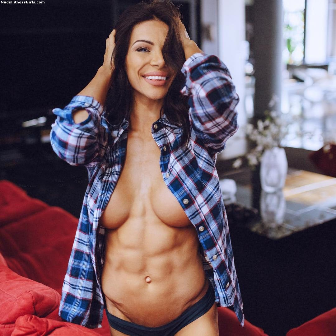 Female Nude Abs