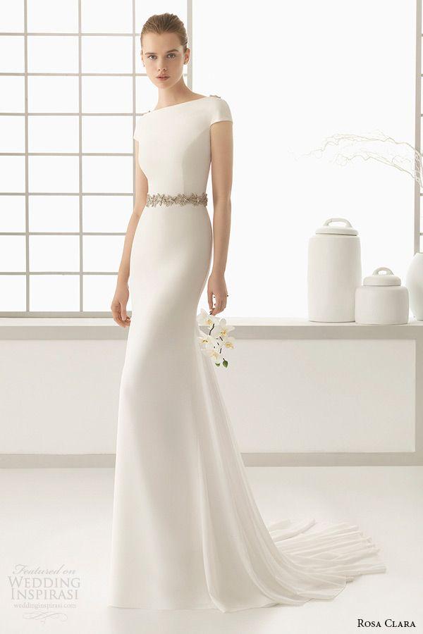 Vestidos boda rosa clara 2016
