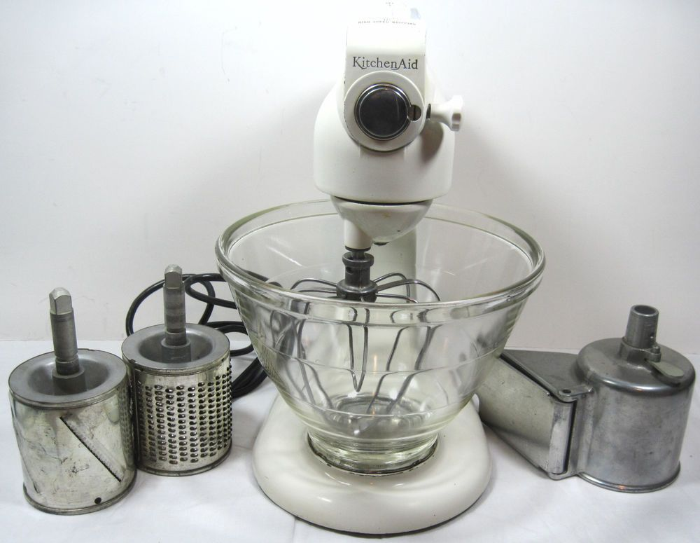 VINTAGE KITCHENAID HOBART STAND MIXER MODEL 3-C KitchenAid W\/Bowl - kitchenaid küchenmaschine artisan rot