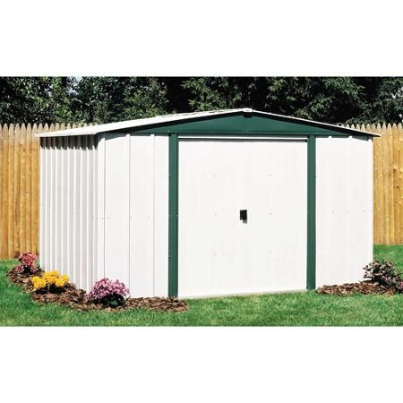 Arrow Hamlet 10 X 8 Steel Storage Shed Walmart Com Steel Storage Sheds Shed Storage Metal Shed