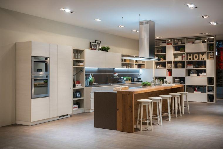 Resultado de imagen para cocinas modernas con barra | cocinas 2016 ...