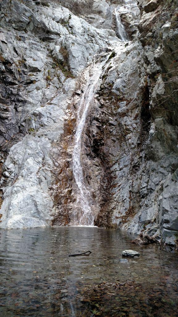 Third Stream Falls - hidden gem in the eastern San Gabriel Mountains