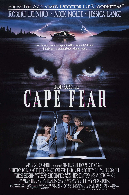 Cabo Do Medo Cape Fear Martin Scorsese Film Nolte Et Musique Film