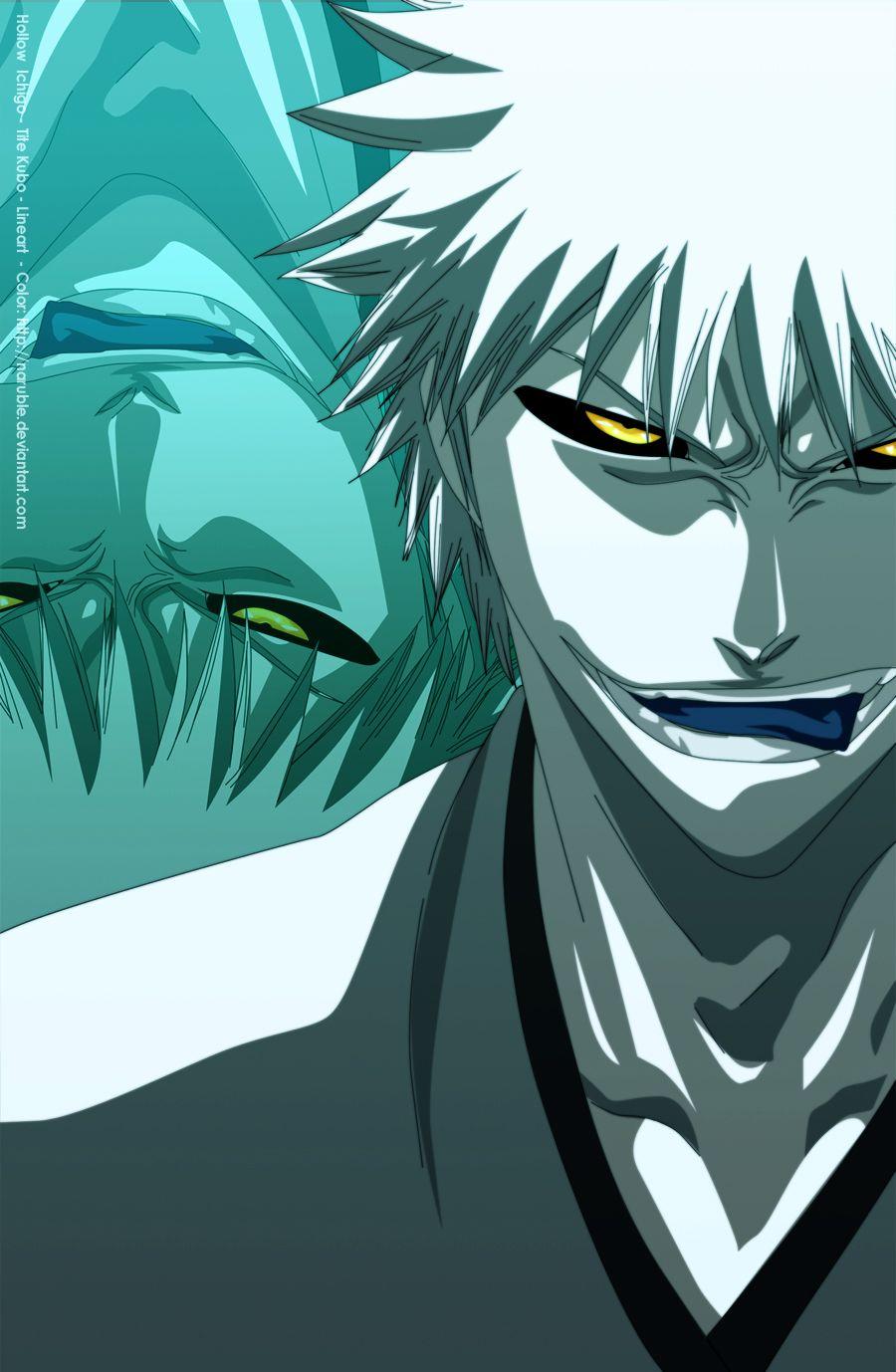 Kurosaki Ichigo Hollow 3 by naruble | Bleach | Pinterest | Dibujar y ...