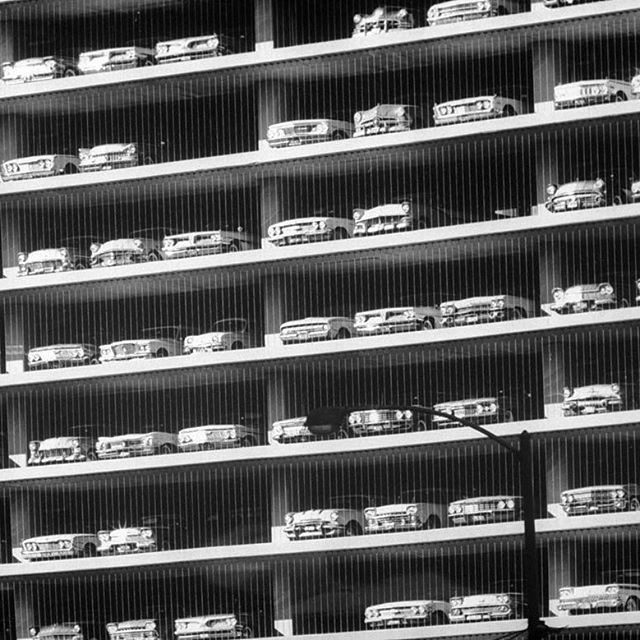 Close-up Of A Chicago Parking Garage, 1961 (Andreas