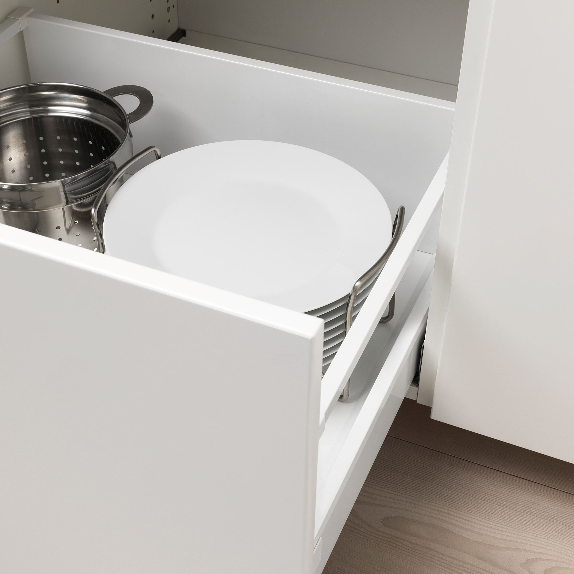 Variera Sup Ustens Sup Assiettes Egouttoir Bambou 21 31 Cm Ikea In 2020 Kitchen Drawer Dividers Plate Holder Ikea Cabinets