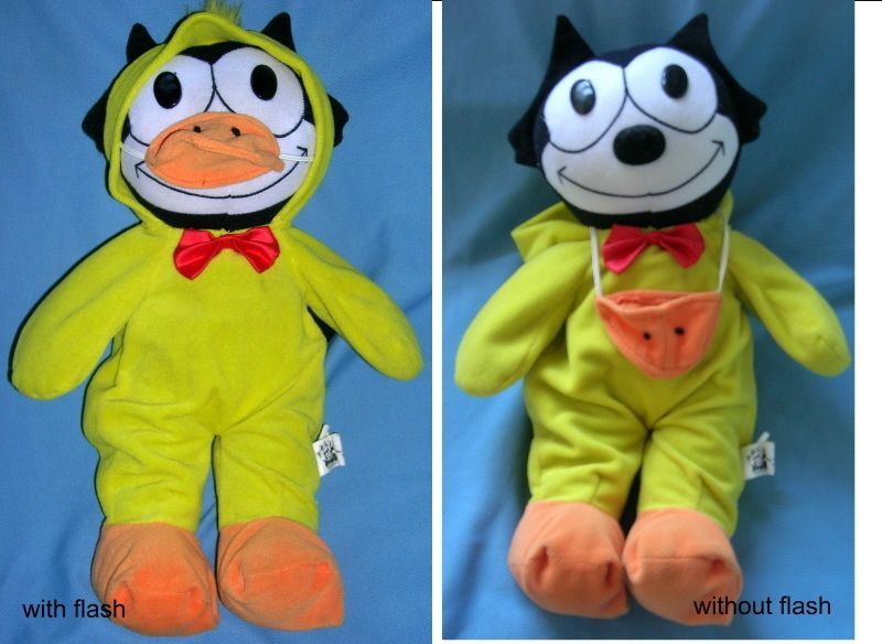 Felix the Cat in Duck Suit