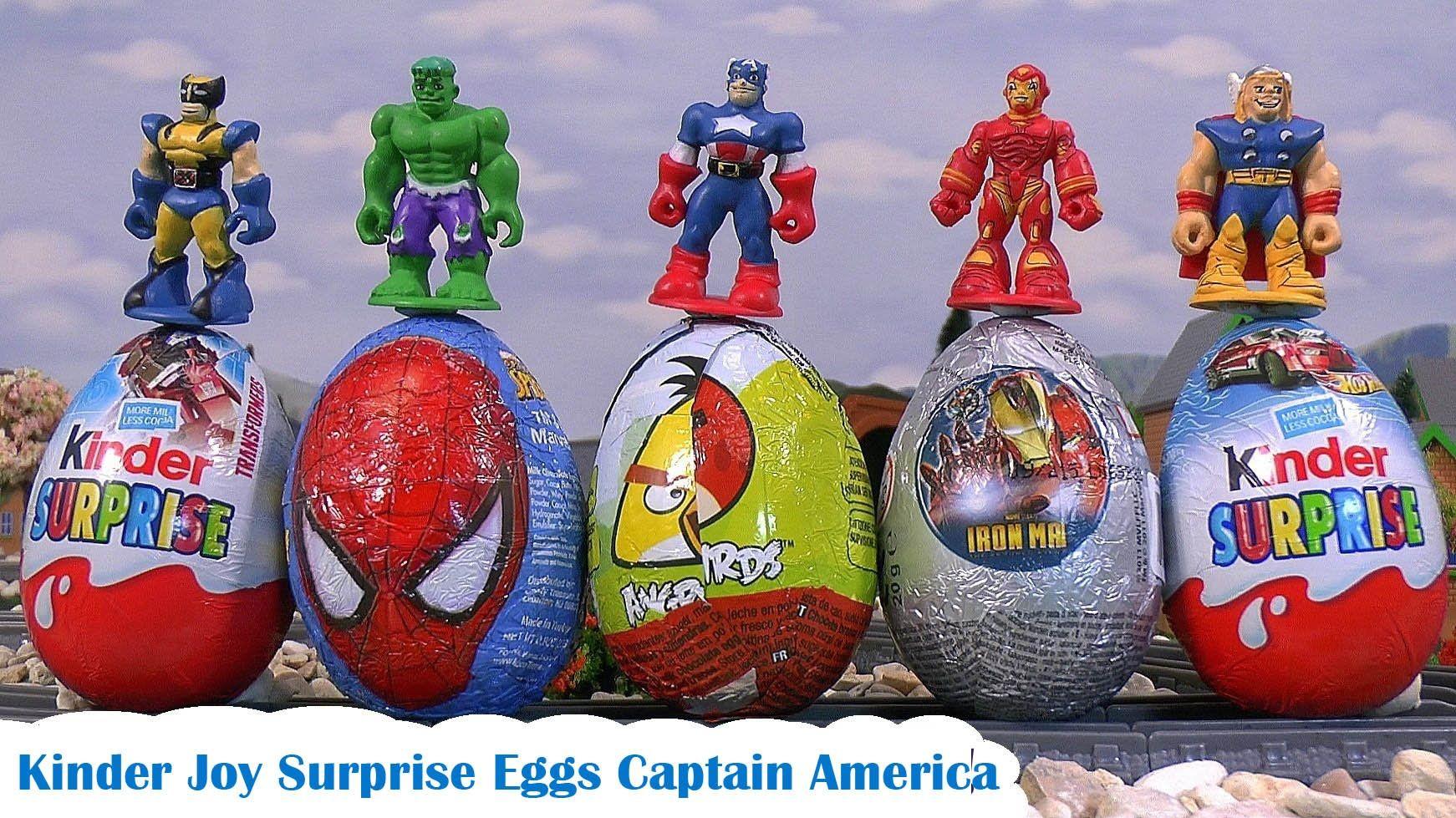 Kinder Joy Surprise Eggs Marvel Captain America, Surpreenda Ovos Capitão América by TBTC https://www.youtube.com/watch?v=UskdPnLNlQI https://www.youtube.com/watch?v=MISre2CI5M8 https://www.youtube.com/watch?v=qoc9ssUdoFU https://www.youtube.com/watch?v=J-sb6tNQIQc https://www.youtube.com/channel/UCMA-tq_JQcZ7hg9QeXNHE9A