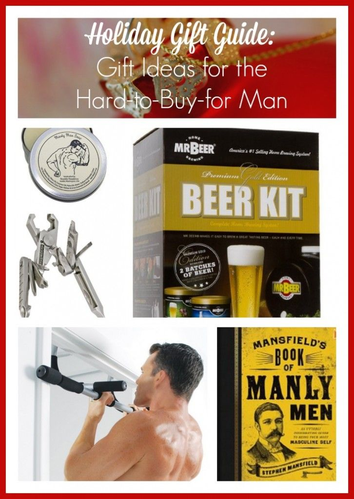 Holiday Gift Guide Gift Ideas for the Hard-to-Buy-for Man Holiday