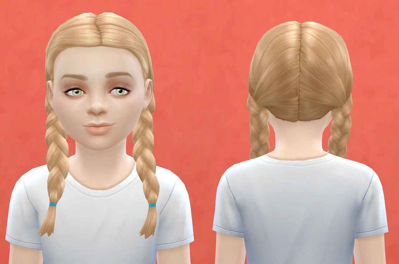 The sims 4 hairstyles cc - Pickypikachu Child Hairstyle Sims 4 Hairs Http Sims4hairs Com