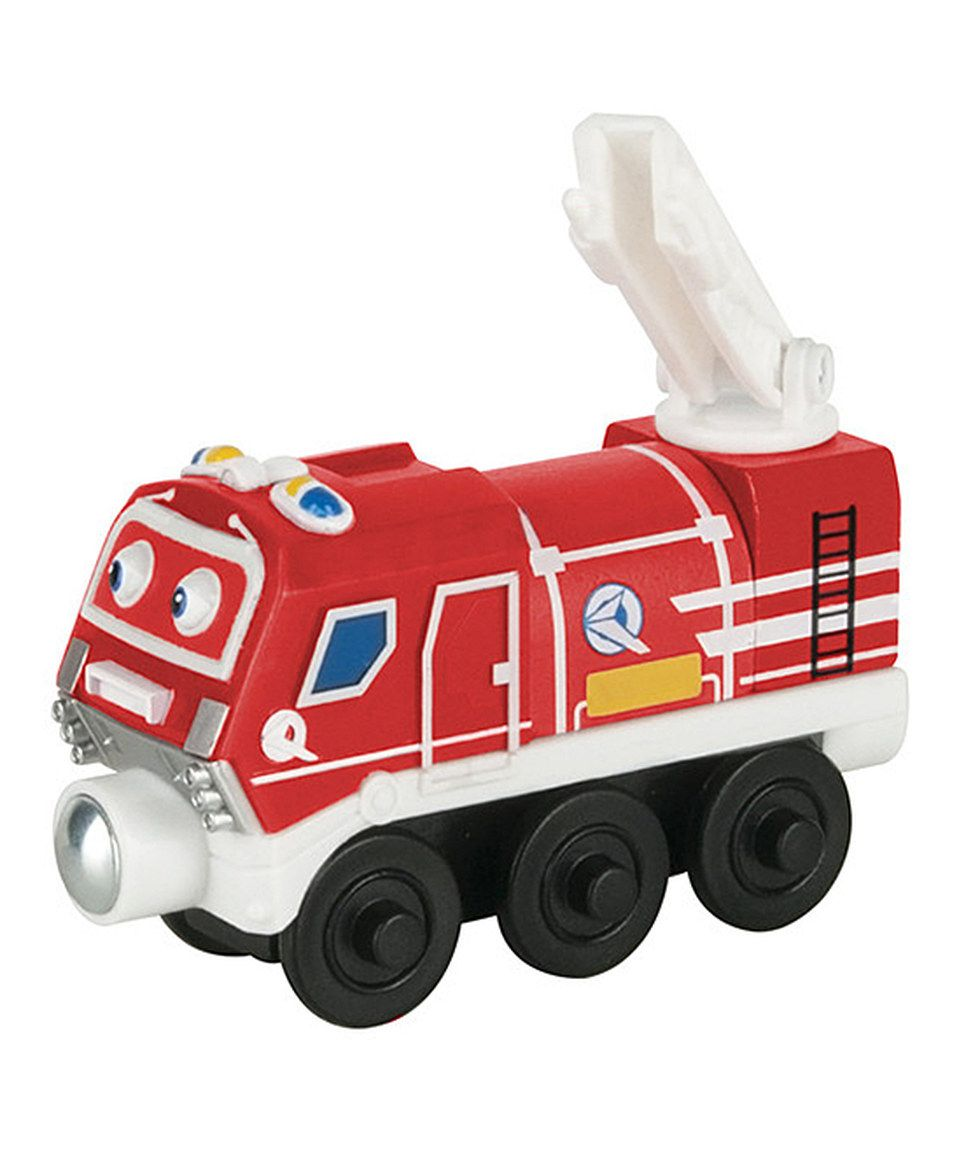 This Wood Asher Train Engine by Chuggington is perfect! #zulilyfinds ...