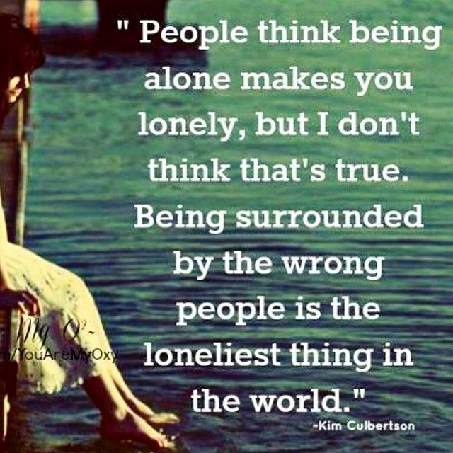 Being Lonely Life Quotes Quotes Quote People Lonely Alone Instagram