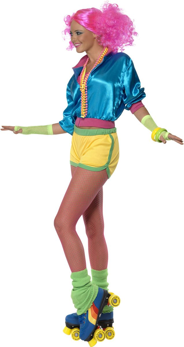 ff625a291e6 Foute outfit rolschaatsen retro   Overig in 2019 - 1980s costume ...